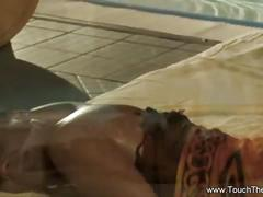 Exotic and interesting anal massage