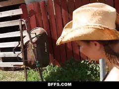 Bffs - straight girl seduced by horny lesbians
