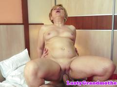 matures, bedroom, chubby, chubby cock, grandma, in the bedroom