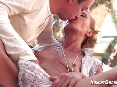 70 yr old horny ass granny with young 22 yr old guy hot