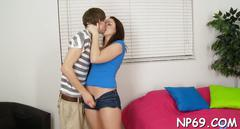 Magnetizing cowgirl riding teen hardcore 4