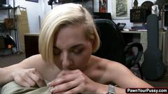 Hot and sexy blonde stevie sixx gives sex for cash