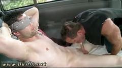Straight bodybuilder gay porn actors doing the greek