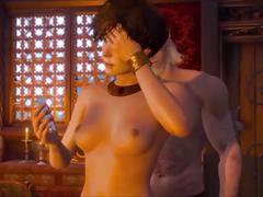 Witcher 3 - sex scenes with all prostitutes (german/deutsch)