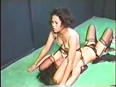 asian, cat fights, femdom,