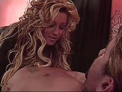 Jill kelly swallows a huge load