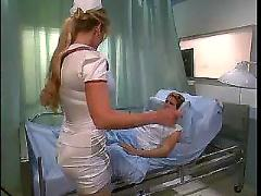Blond nurse fucked