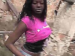 Ebony bitch fuck