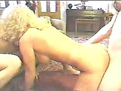 3 shemales having sex with a girl