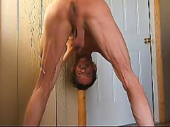Anal fist fuck and piss
