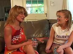lesbian, mature, older, tits