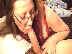 Mom blow