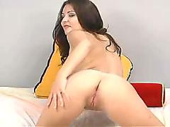 Valerie vasquez - latina plays with her toy & fucks her own ass for the first time - scene 2