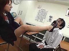 Foot fetish teacher2