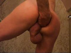 Extreme cock & ass play