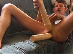 Double anal dildos fuck