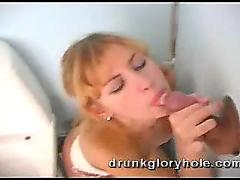 Teen drunk gloryhole