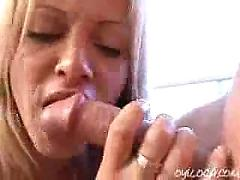 Blonde booty latina nicole sucking a long cock