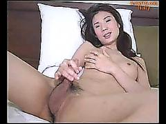 Beautiful asian ladyboy