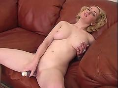 Girl and her vibrator