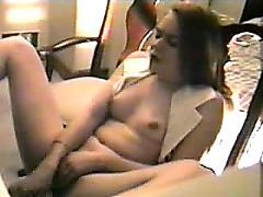 Masturbating orgasm