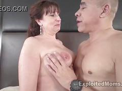 Porn star orders a lingerie model