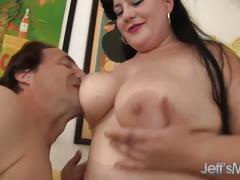 Fabulous fat girl proves that bbws fuck best