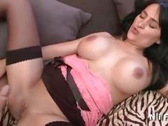 Casting of big titted milf analized