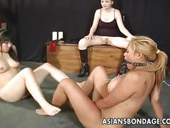 dildo, lesbian, big, tits, sucking, interracial, doggystyle, shaved, threesome, vibrator, masturbation, asian, gag, ball, bdsm, bondage, japanese, japan, whip, jav