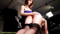 Spanking her all night long is her thing