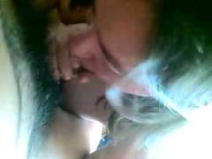 My wife sucking and kissing my dick