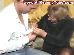 German mature mother and her son