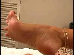 Foot job 2