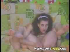 Two cute lesbians fucking on webcam