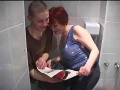 Fuck in toilet m27
