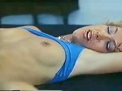 A 1980s lesbian roommate scene.