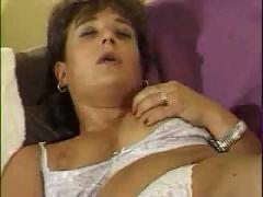 Masturbatian girl