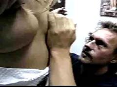 Classic big tits threesome sex..rdl