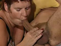 German pierced mature getting fucked