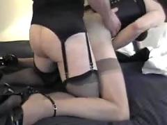 2 amateur shemales in hot session