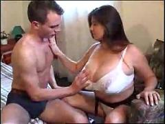 Russian with huge tits