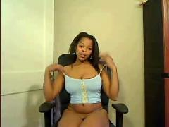 Ebony mature webcam
