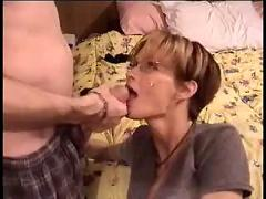 Amateur house wife blowjob