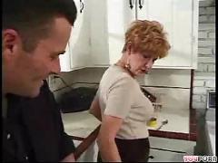 Mature woman milf  by man blowjobs