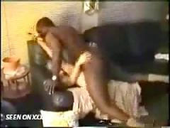 Husband filiming wife fucking black man