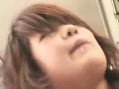 Crazy asian schoolgirls in bus.f70