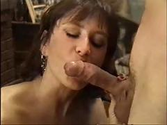 My gorgeous mother gives me my second horny blowjob-the better-f70