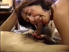 My gorgeous mother gives me my first horny blowjob-amateur-f70