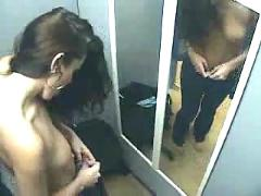Dressing room - hidden cam