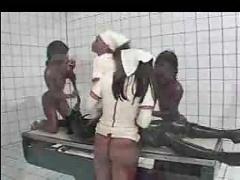 4 rubber nurses